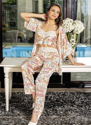 Loriva Pijama Takım Oranj